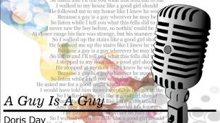 A Guy Is A Guy