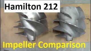 Hamilton 212 Jet Pump Impellers Compared