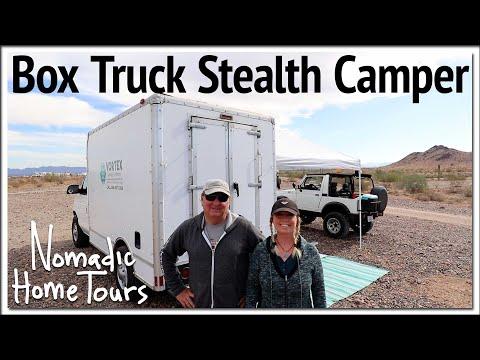 Super Box Truck Stealth Camper