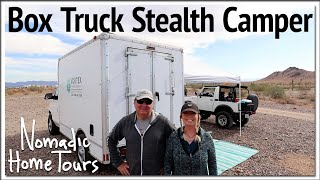 Super Box Truck Stealth Camper
