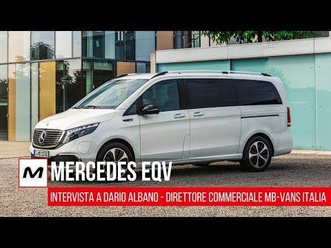 Mercedes EQV: le caratteristiche del nuovo MPV elettrico