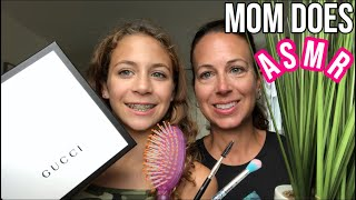My Mom Tries ASMR! She did real good! :)