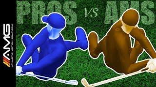 Golf Swing Timing: Pros vs Ams