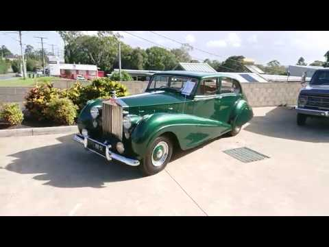 1951 Rolls Royce Silver Wraith Park Ward For Sale At Undercover Cars In Capalaba QLD Australia
