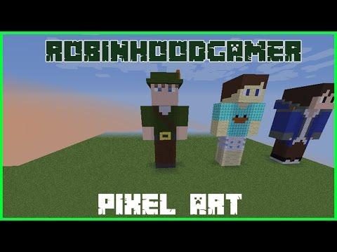 Contruindo Youtubers #35 @RobinHoodGamer [PixelArtSpeed]