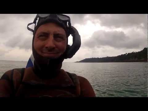 Guernsey freediving for Scallops