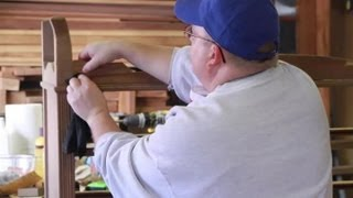 How to Apply Wood Veneer Without a Vacuum Press : Wood & Furniture Repair Tips
