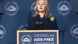 Secretary Clinton Delivers Remarks on HIV/AIDS at the National Institutes of Health