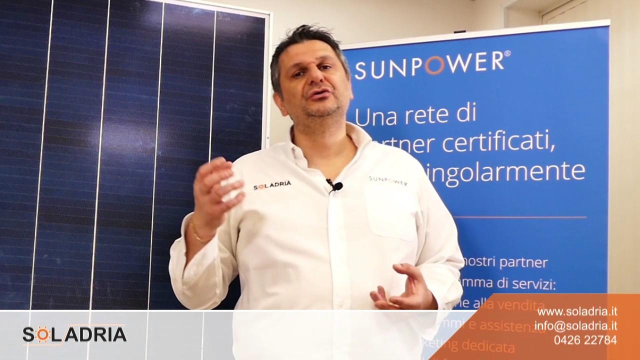 Moduli SunPower per Fotovoltaico Domestico e Commerciale