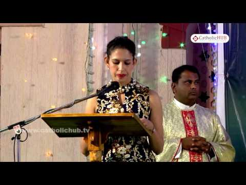 """""""ANNUAL FEAST"""" Naveena Day 5@ Shrine of Our Lady of Health, Khairtabad, Tg, INDIA.03-09-16.HD"""