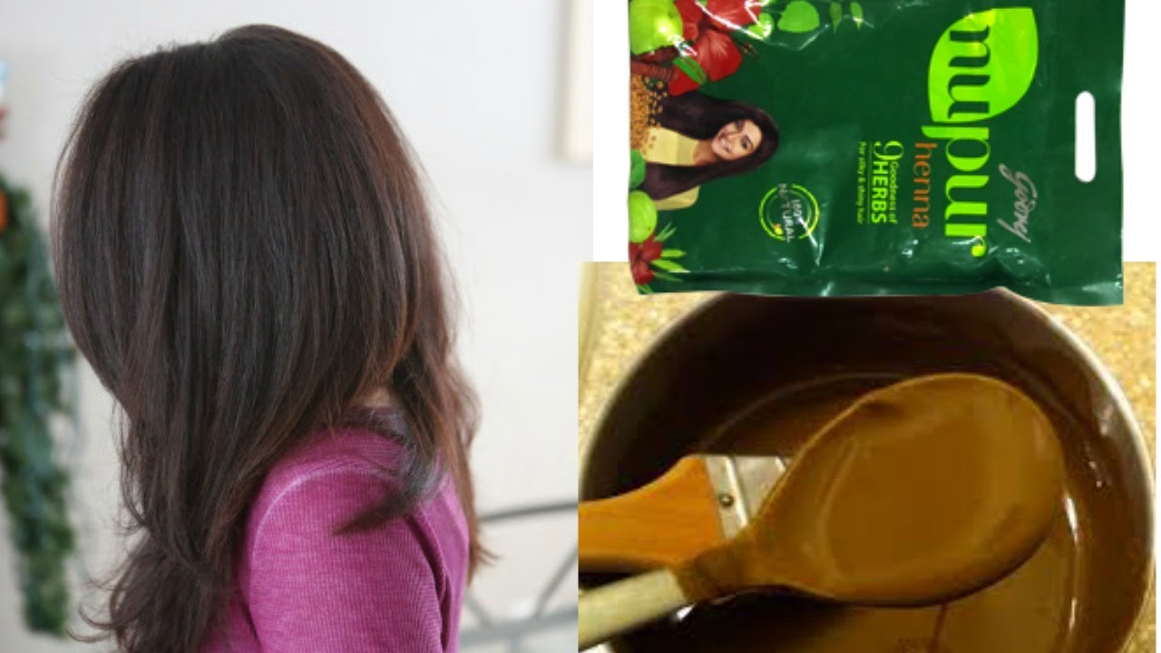 How To Apply Henna To Your Hair At Home Youtube