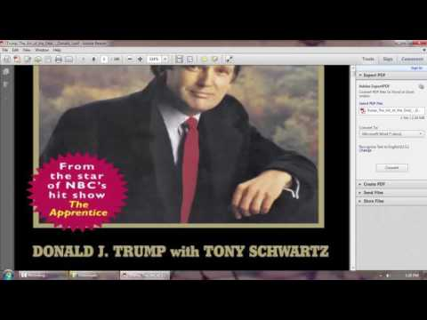 the art of the deal donald trump free pdf