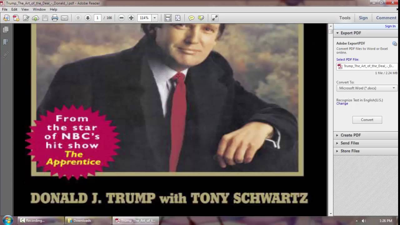 how to get rich donald trump pdf free download