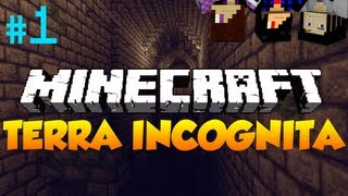 Minecraft: Terra Incognita! (Adventure Map) Episode 1 w/ Gizzy and Ryan!