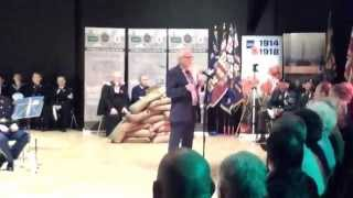 SHANKILL SERVICE OF REMEMBRANCE SPECTRUM CENTER 5TH 11TH 2015(A SHORT CLIP OF THE SHANKILL SERVICE OF REMEMBRANCE FEATURING THE A.LIVE COMMUNITY CHOIR AND GUESTS LEST WE FORGET., 2015-11-05T22:47:15.000Z)