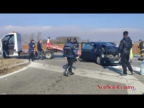 CASELLE - Incidente Sp2 Lunedì 10 febbraio 2020