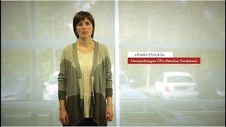"""Zientzialari 90 - Ainara Estanga """"Alzheimerraren fase preklinikoak hogei urte iraun dezake"""""""