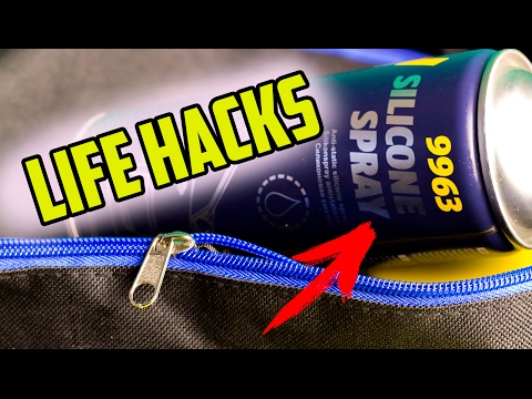 8 LIFE HACKS WITH SILICONE SPRAY YOU SHOULD KNOW