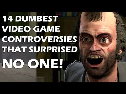 14 Dumbest Video Game Controversies That Surprised No One