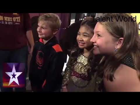 Angelica Hale After The Show Meet And Greet America's Got Talent Live Golden Buzzer 2017