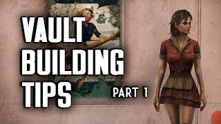 Vault Building Tips Part 1 - Vault-Tec Workshop - Fallout 4