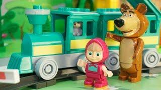 Мультики Маша и Медведь новые серии Эдельвейс. Новые мультфильмы. Для детей Развивающие видео детям