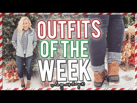 PREPPY WINTER OUTFITS OF THE WEEK (DECEMBER 2017 OUTFIT IDEAS) vlogmas day 10 || Kellyprepster