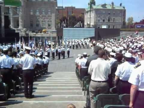 Cadets de la Marine Canadienne-Rendez-vous Naval Quebec 2012