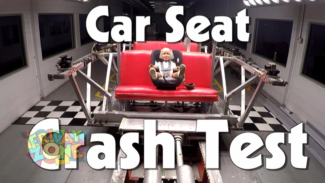 Car Seat Crash Test   The Friday Zone   WTIU   PBS - YouTube