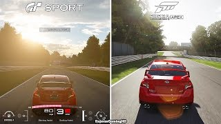 Gran Turismo Sport β VS Forza Motorsport 6: Apex Comparison (Brands Hatch) @ 1440p (60ᶠᵖˢ) HD ✔