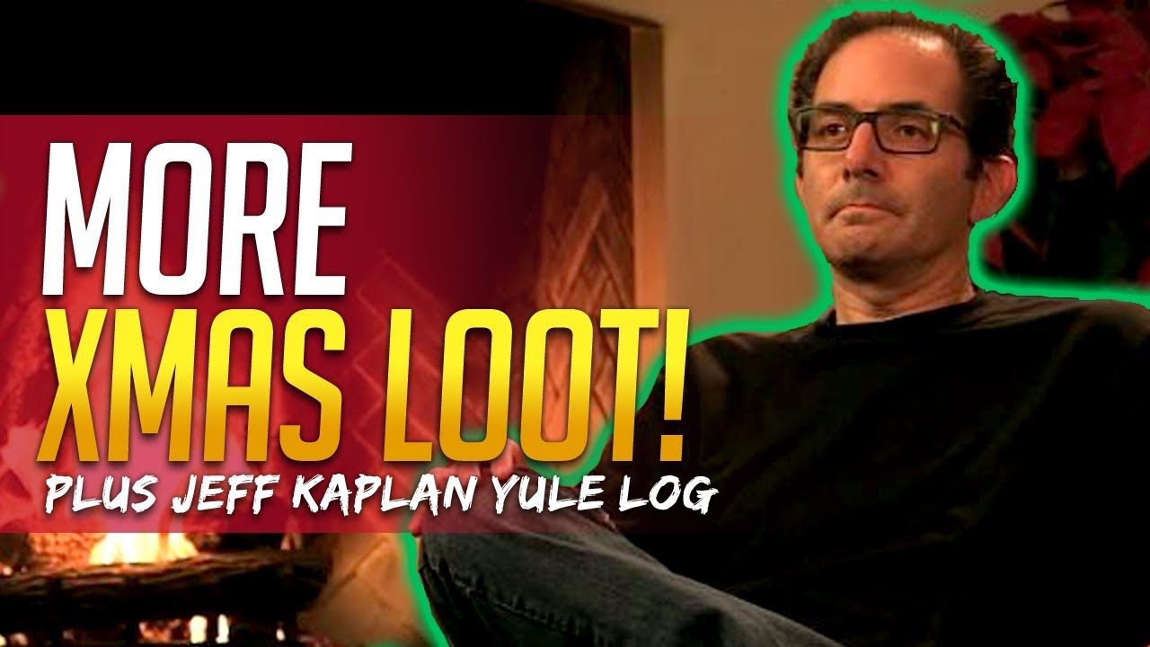 overwatch more free loot plus jeff kaplan yule log youtube