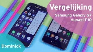 Huawei P10 vs Samsung Galaxy S7 review (Dutch)
