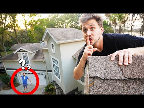 SNEAKING INTO THE IRELAND BOYS HOUSE! (Don't Get Caught!)