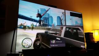 GTA 4 : Xbox One S Upscaled to 4K vs 1080p & Game Mode on Ks-8000