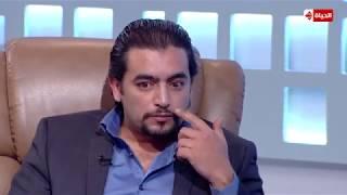 تعليق النجم هاني سلامة على المشهد الشهير مع النجمة غادة عبد الرازق