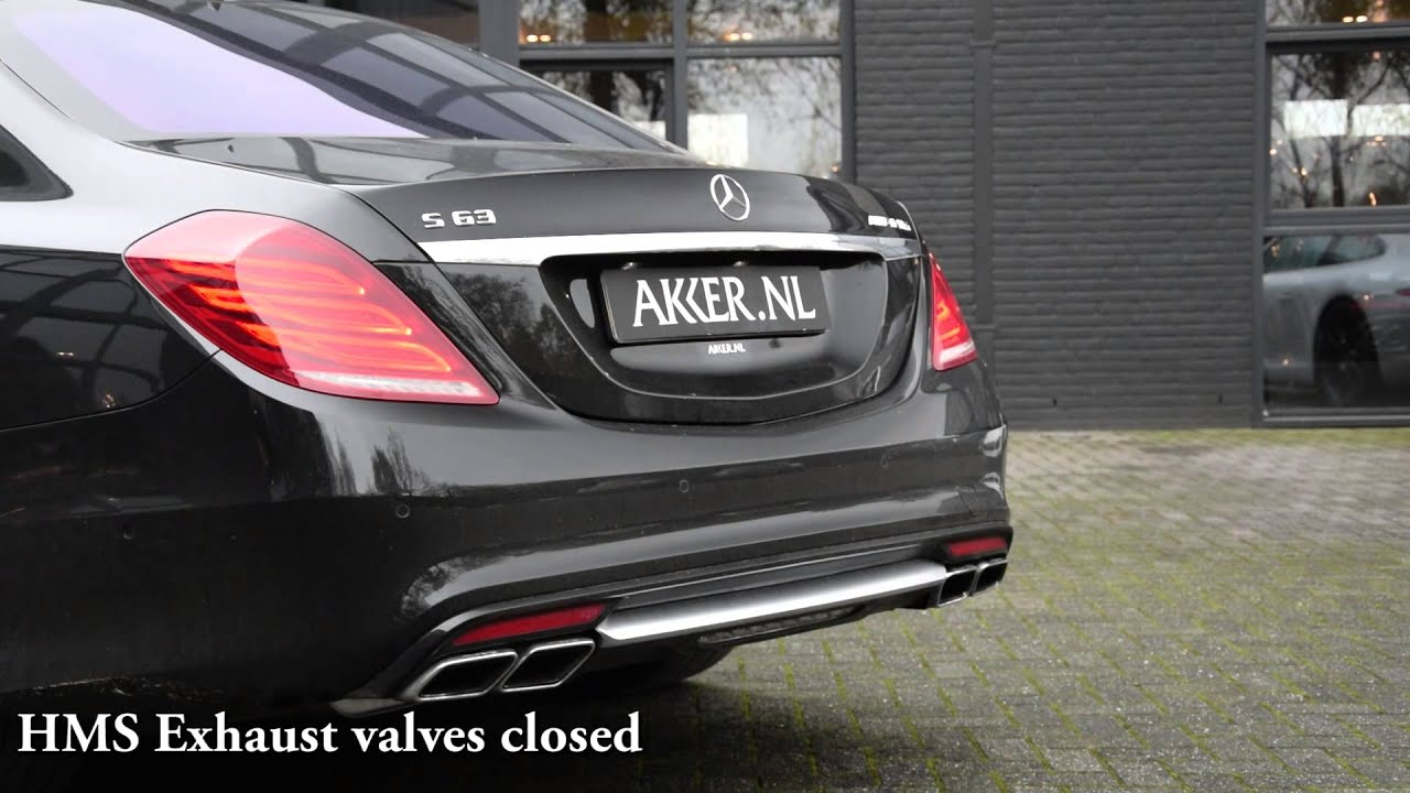 Repeat Mercedes Benz S63 AMG w/ HMS Performance Exhaust by