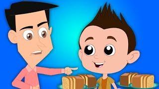 Johny Johny да папочка | потешки для детей | Песни для детей | Rhymes in Russian | Baby Rhymes