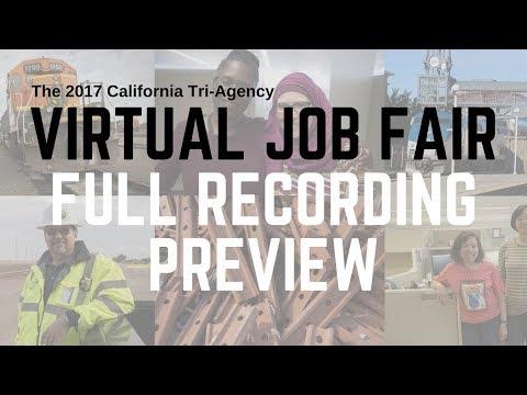 WorkforCA: 2017 California Tri-Agency Virtual Job Fair Preview