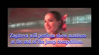 Alina Zagitova team captain Channel One Figure Skating Cup 2021 Figure skating battle ladies vs men