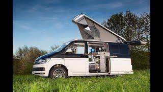 Spacecamper: open - Küche und Wasser (Doppeltürer Bulli mit herausschwenkbarer Küche)