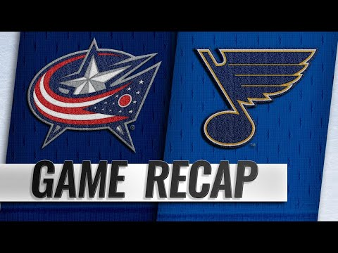 Blue Jackets explode for seven goals to down Blues