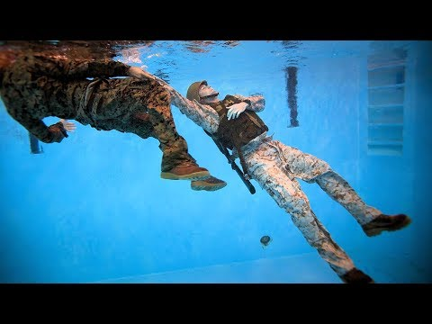 Becoming A Marine Corps Water Survival Instructor