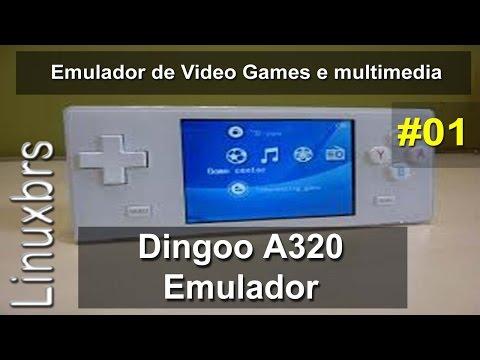 Dingoo A320 - Emulador de Video Games e multimedia