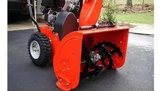 Snowblower won't start   first quick thing to try