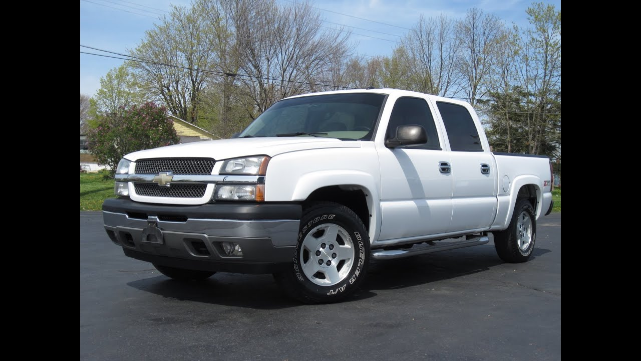 2005 chevy 1500 lt z71 4x4 loaded heated leather bose crew cab short bed sold youtube