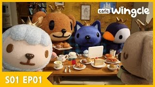 [Official] Cafe Wingcle | Meet Us at Cafe Wingcle | Stop Motion Animation | Episode 1