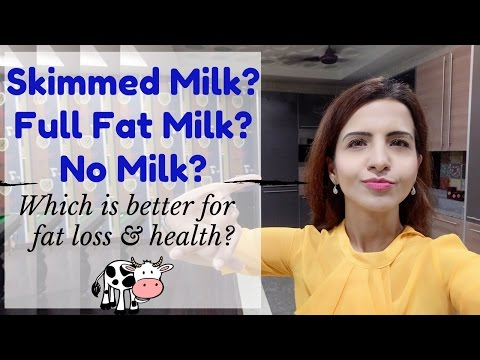 Whole Milk vs Skim Milk: Which is better for Weight Loss & Health. Or Is Dairy Bad for Health?