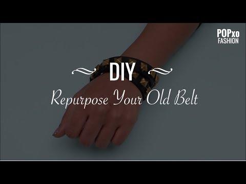 DIY Repurpose Your Old Belt - POPxo Fashion