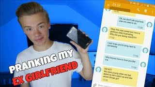 "SONG LYRICS TEXT PRANK ON EX GIRLFRIEND - ""We Don't Talk Anymore"" by Charlie Puth ft. Selena Gomez"