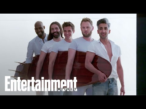 'Queer Eye' Guys Dish On Sudden Fame, Fan Reaction And More | Cover Shoot | Entertainment Weekly